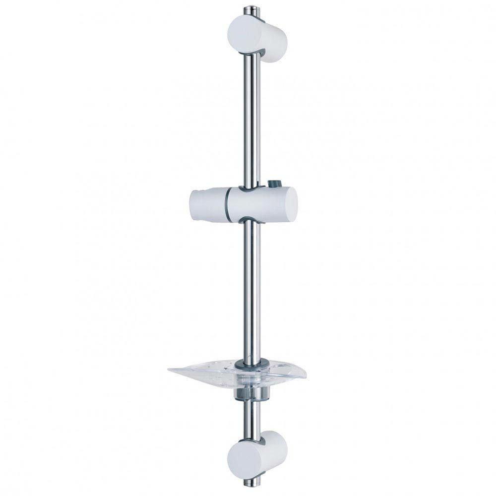 Triton Lewis Shower Riser Rail - White/Chrome - TSKLEWWC Large Image