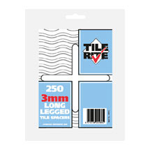 Tile Rite 3mm Long Leg Tile Spacers (Pack of 250) Medium Image