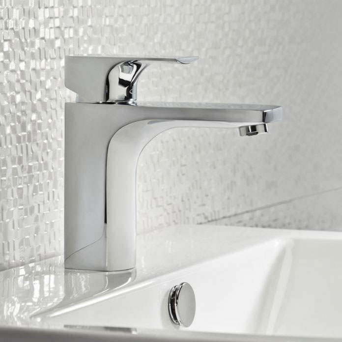 Tavistock Siren Basin Mixer with Click Waste - TSN11 Profile Large Image