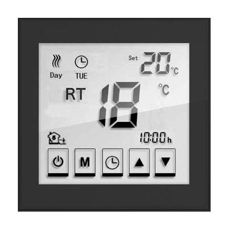 Caldo Underfloor Heating Timerstat with Remote (Black) profile large image view 2