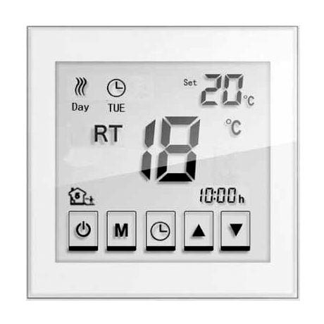 Caldo Underfloor Heating Timerstat with Remote (White) profile large image view 2