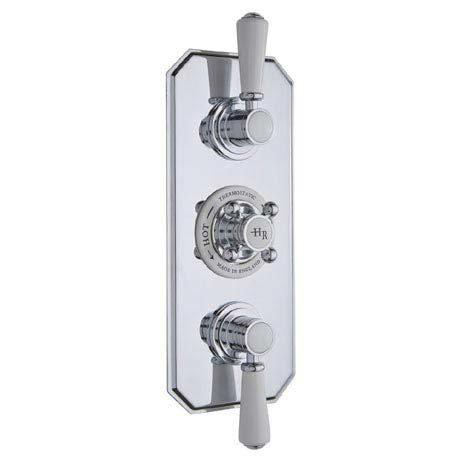 Hudson Reed Topaz Triple Concealed Thermostatic Shower Valve - TSVT003