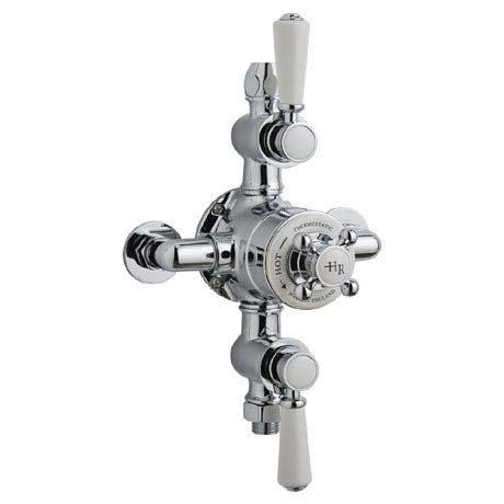 Hudson Reed Topaz Triple Exposed Thermostatic Shower Valve - TSVT102