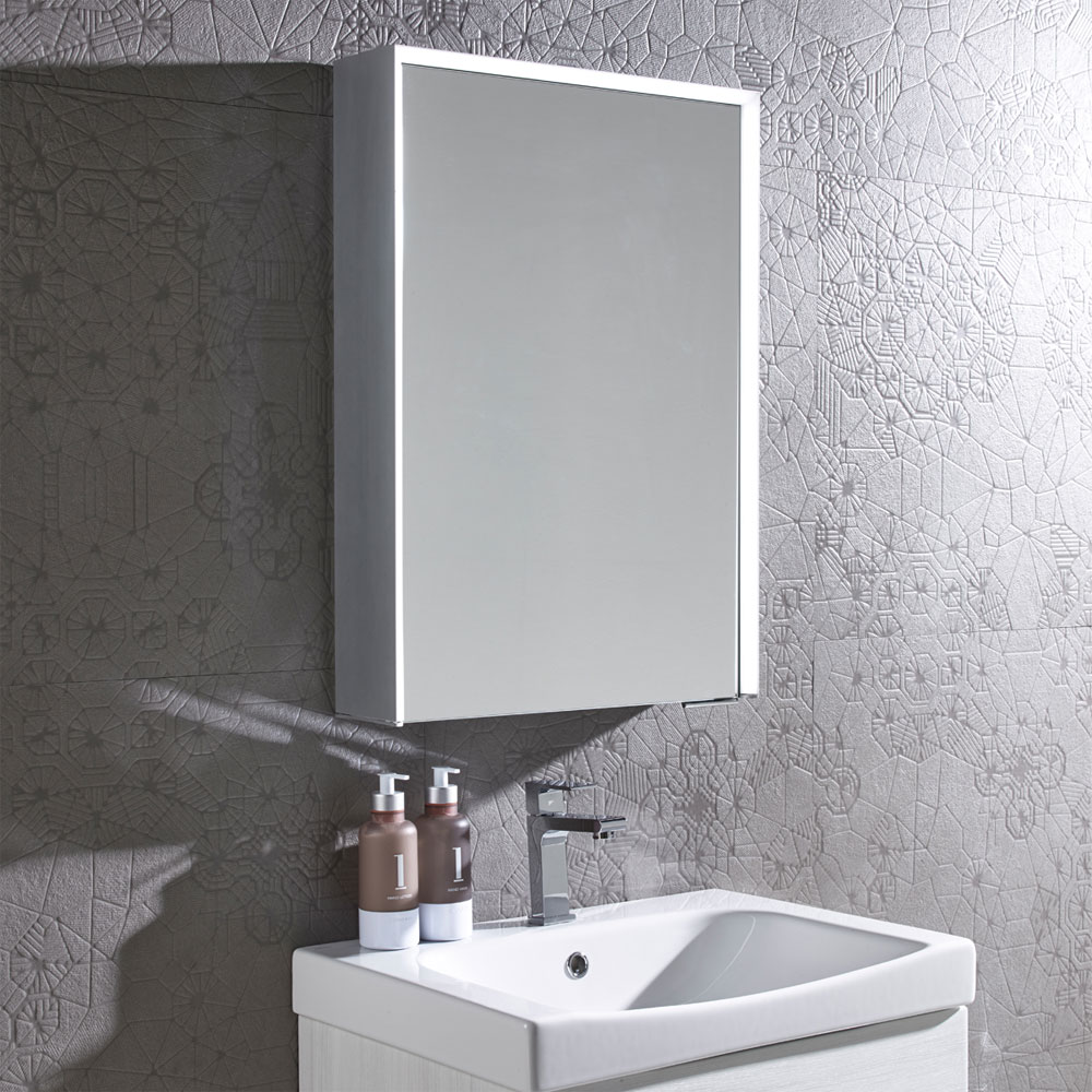 Roper Rhodes Tune Bluetooth Illuminated Mirror Cabinet - TU50AL profile large image view 3