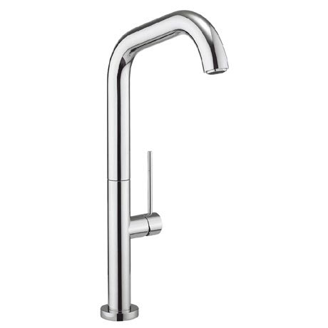 Crosswater - Cucina Tube Side Lever Kitchen Mixer - Chrome - TU713DC
