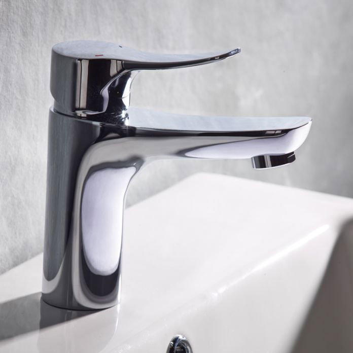Tavistock Voice Basin Mixer with Click Waste - TVC11 Profile Large Image