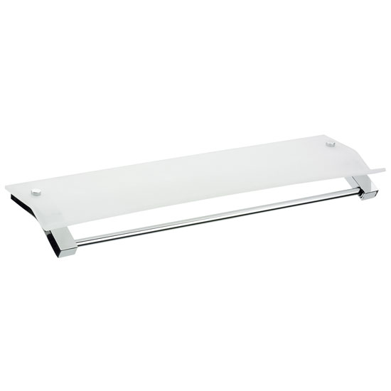 Bristan - Twist Acrylic Shelf - TW-SHELF-C Large Image