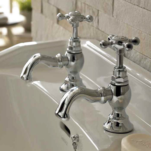 Bristan - Trinity Basin Taps - Chrome - TY-1/2-C Profile Large Image