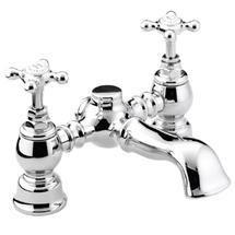 Bristan Trinity Traditional Bath Filler - Chrome - TY-BF-C Medium Image