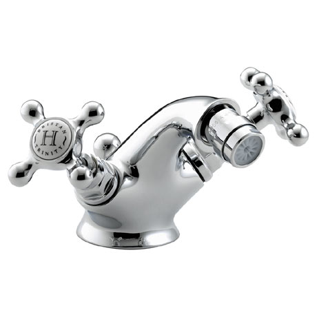 Bristan Trinity Traditional Bidet Mixer w/ Pop-up waste - Chrome - TY-BID-C