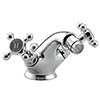 Bristan Trinity 2 Bidet Mixer with Pop-Up Waste Chrome - TY2-BID-C profile small image view 1
