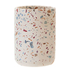 Turin Terrazzo-Effect Concrete Tumbler profile small image view 1