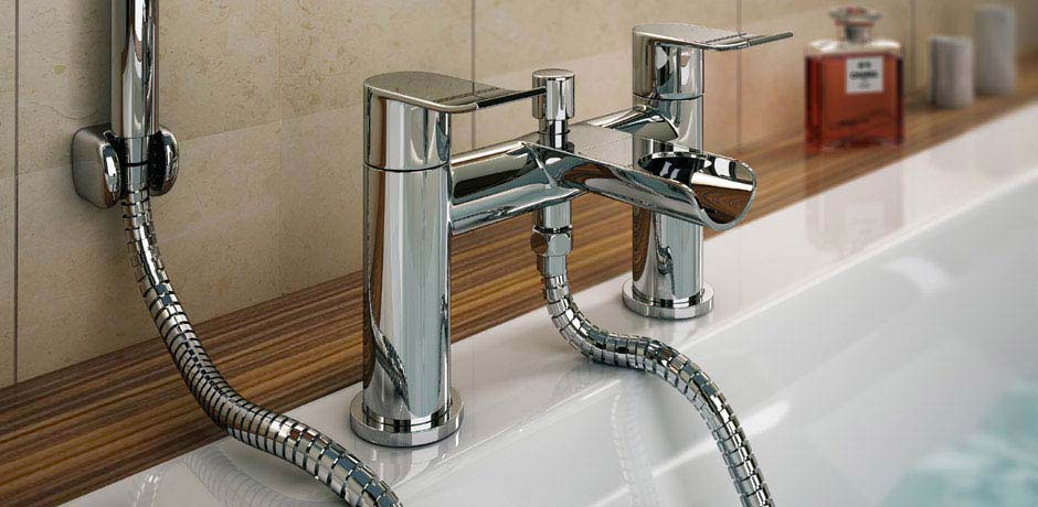 2 tap hole bath mixer