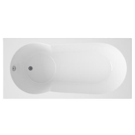 Taranto Keyhole Shower Bath & Legset - 1700x800mm