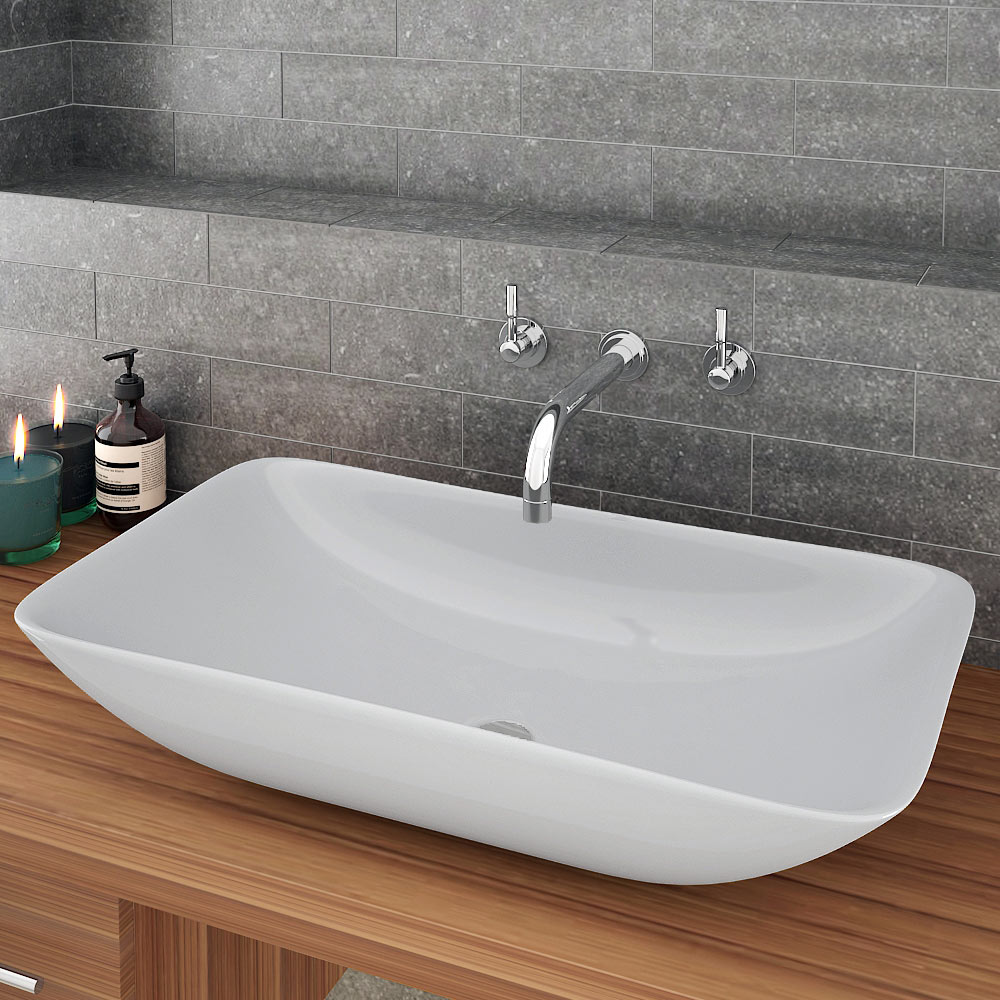 taranto large counter top basin from victorian plumbing. Black Bedroom Furniture Sets. Home Design Ideas