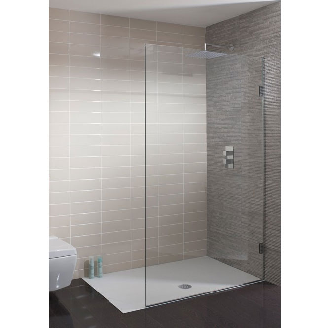 Simpsons - Ten Single Fixed Wetroom Panel - Various Size Options Large Image