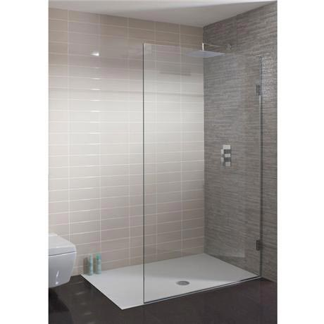 Simpsons - Ten Single Fixed Wetroom Panel - Various Size Options