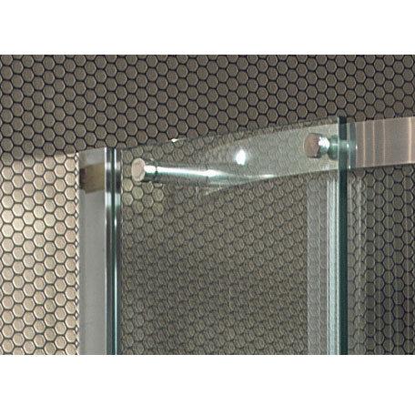 Simpsons Ten Quadrant Double Door Shower Enclosure - 2 Size Options profile large image view 4