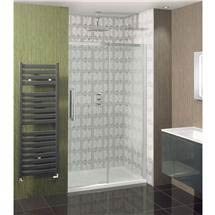 Simpsons - Ten Single Slider Shower Door - 4 Size Options Medium Image