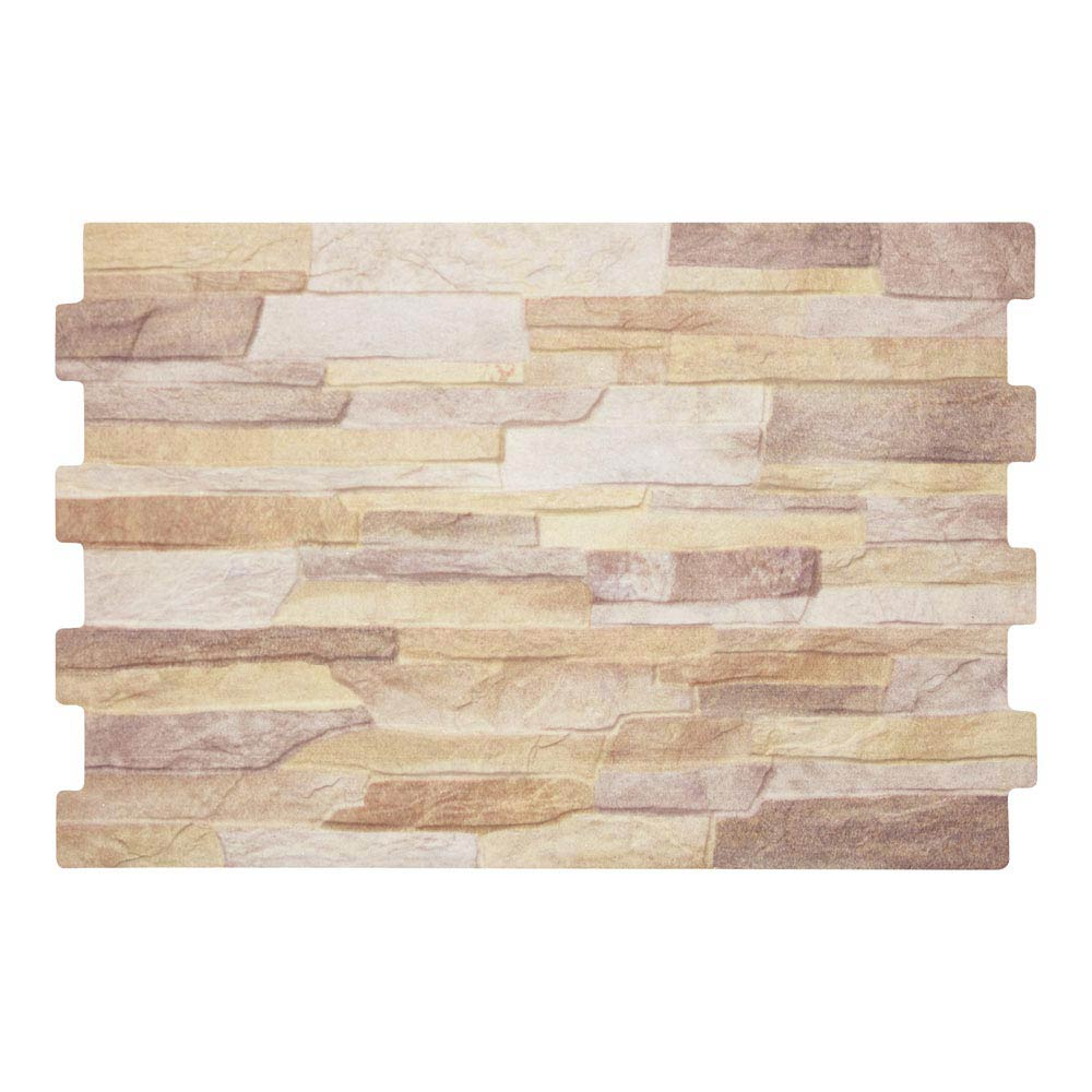 Textured Alps Iris Stone Effect Wall Tiles - 34 x 50cm Large Image