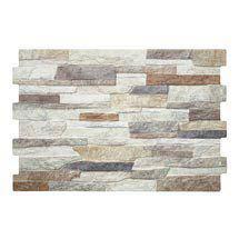 Textured Alps (Mixed) Stone Effect Wall Tiles - 34 x 50cm Medium Image