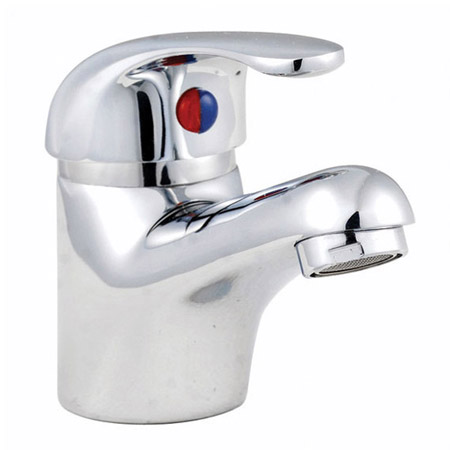Tina Compact Cloakroom Suite inc Single Lever Basin Mixer Standard Large Image