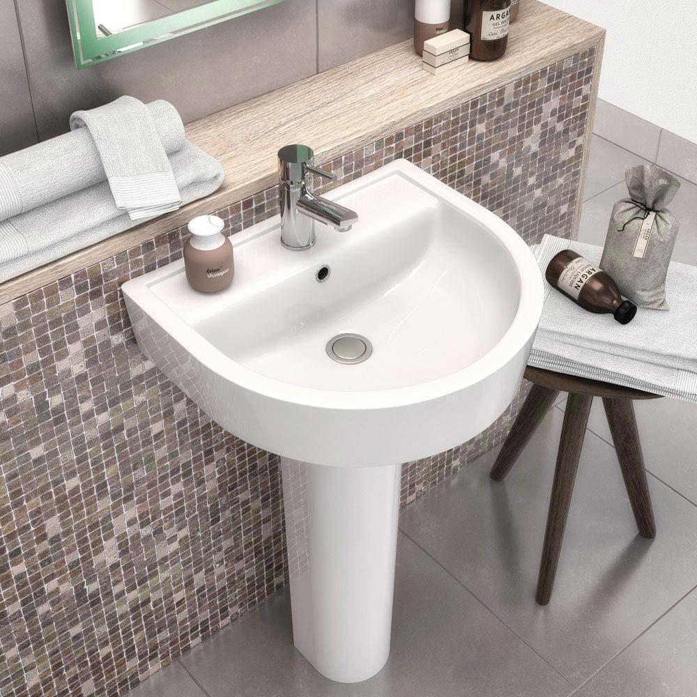 Toronto 4-Piece Modern Bathroom Suite profile large image view 3