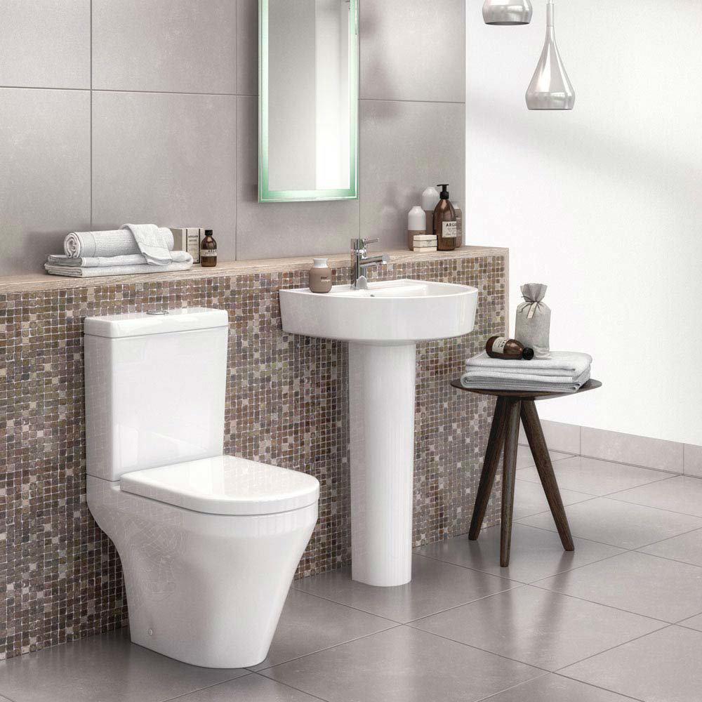 Toronto 4-Piece Modern Bathroom Suite Large Image