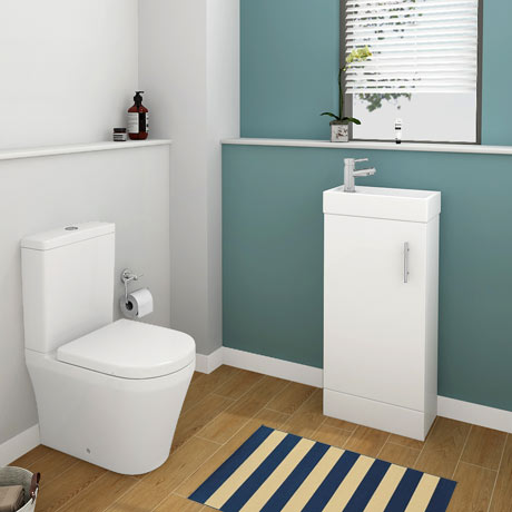 Toronto Modern Cloakroom Suite