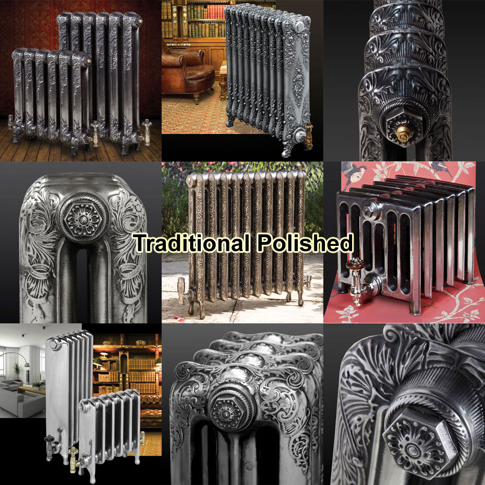 Paladin Piccadilly Cast Iron Radiator (460mm High) In Bathroom Large Image