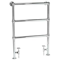 Hudson Reed Traditional Countess Heated Towel Rail - Chrome - HT301 Medium Image