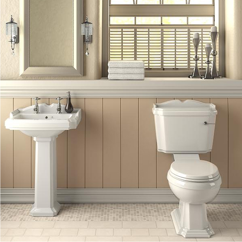 Oxford Traditional En Suite Bathroom Suite profile large image view 4