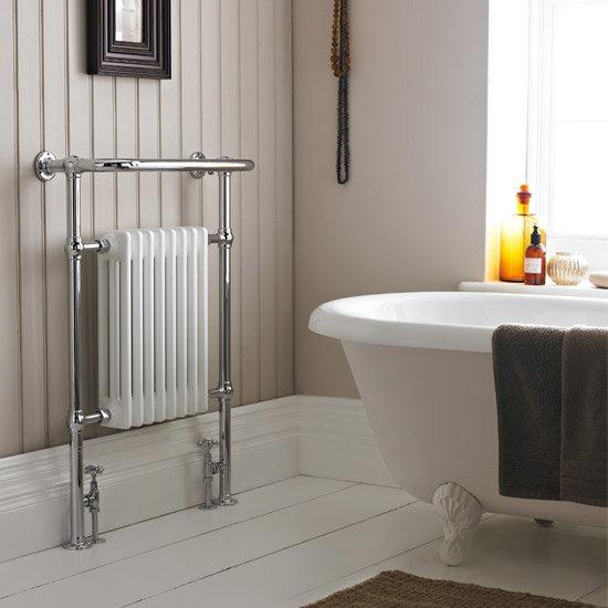 Savoy Traditional Heated Towel Rail Radiator
