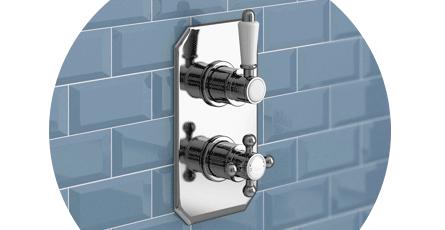 Traditional Shower Valve | Victorian Plumbing