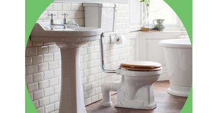 Low level toilet