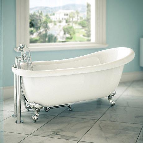 Trafalgar Roll Top Slipper Bath - 1710mm