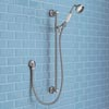 Trafalgar Traditional Shower Slide Rail Kit - Chrome Small Image