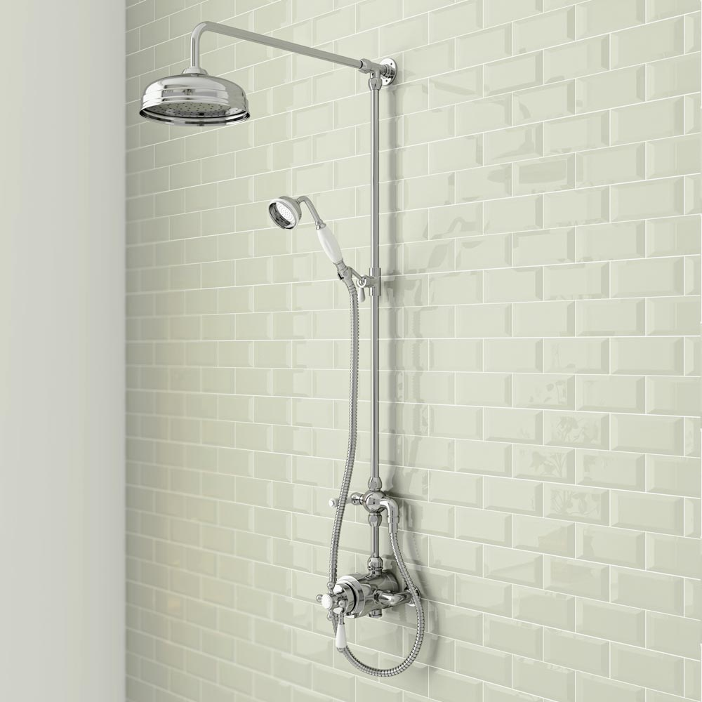 Trafalgar Victorian Exposed Valve Shower