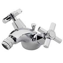 Tre Mercati Charleston Art Deco Mono Bidet Mixer Tap inc Pop Up Waste - 1408