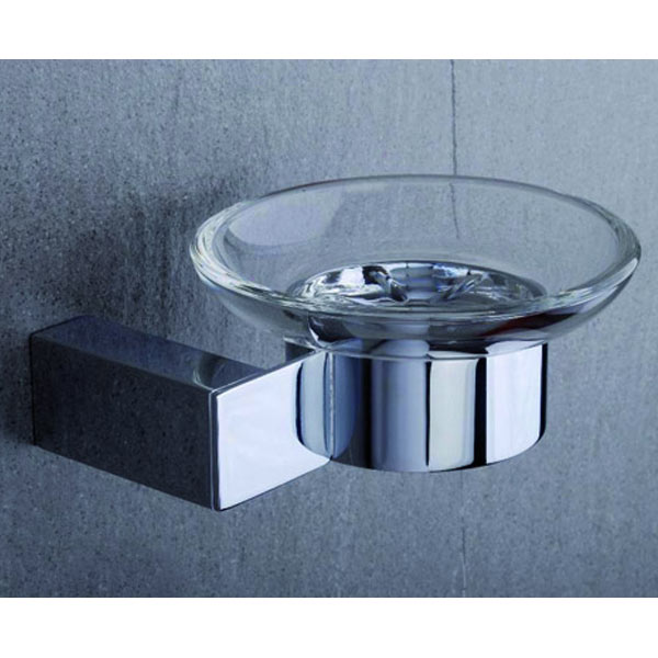 Tre Mercati - Edge Wall Mounted Soap Dish - 66510 profile large image view 1