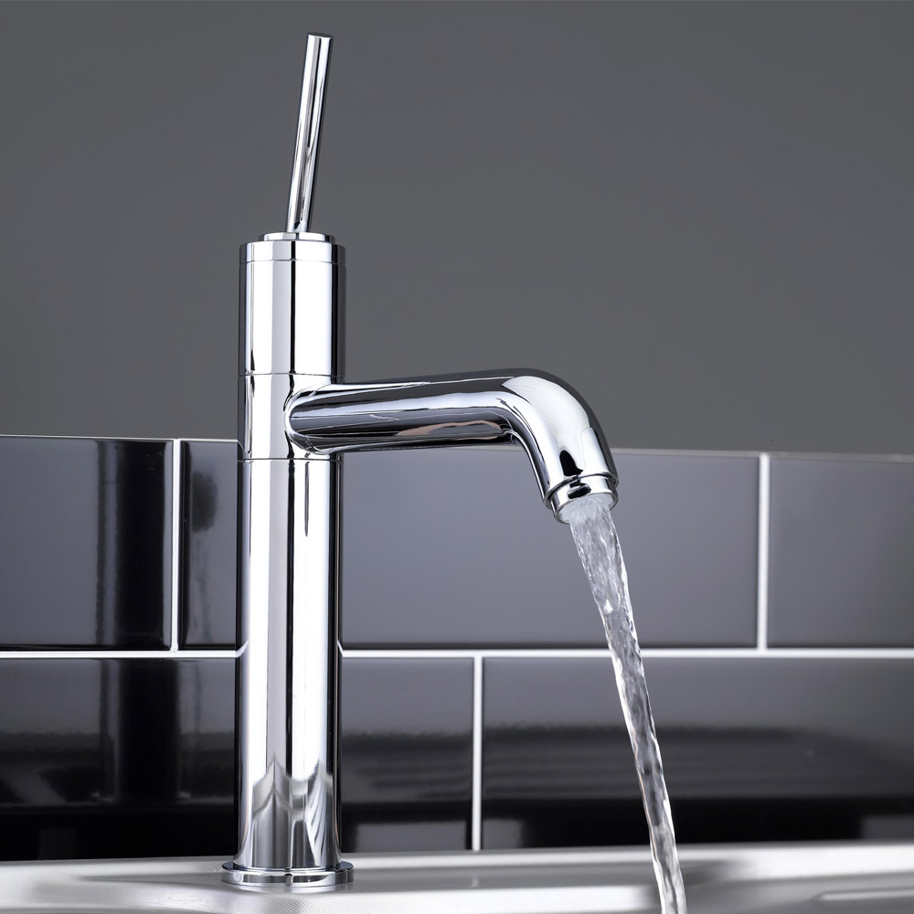 Tre Mercati Stecco Mono Sink Mixer - 91020 profile large image view 2