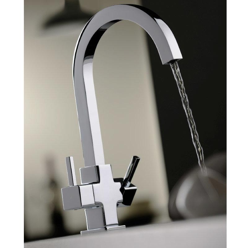 Tre Mercati Winston Mono Sink Mixer - 90080 profile large image view 2