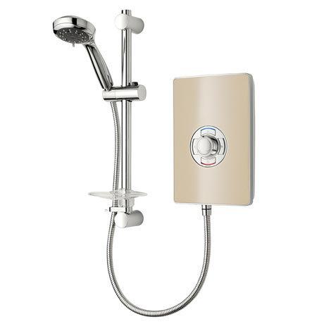 Triton - Aspirante 8.5kw Electric Shower - Riviera Sand - ASP08TLRSD