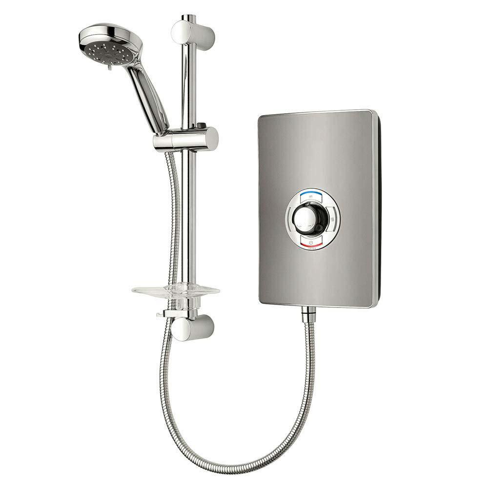 Triton - Aspirante 9.5kw Electric Shower - Gun Metal - ASP09GUNMTL Large Image