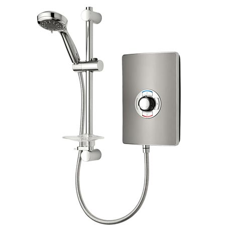 Triton - Aspirante 9.5kw Electric Shower - Gun Metal - ASP09GUNMTL