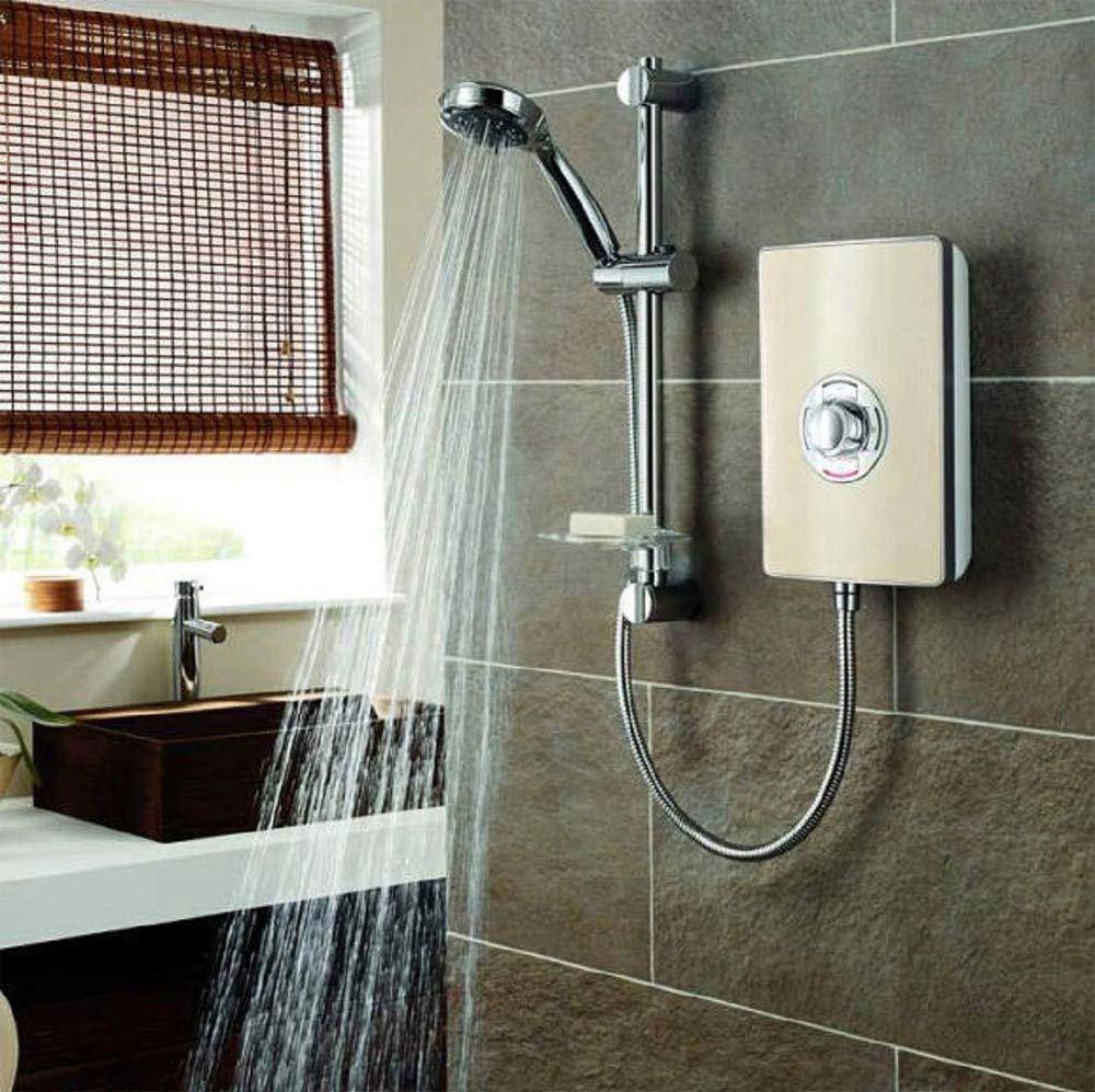 Triton - Aspirante 9.5kw Electric Shower - Riviera Sand - ASP09TLRSD Profile Large Image