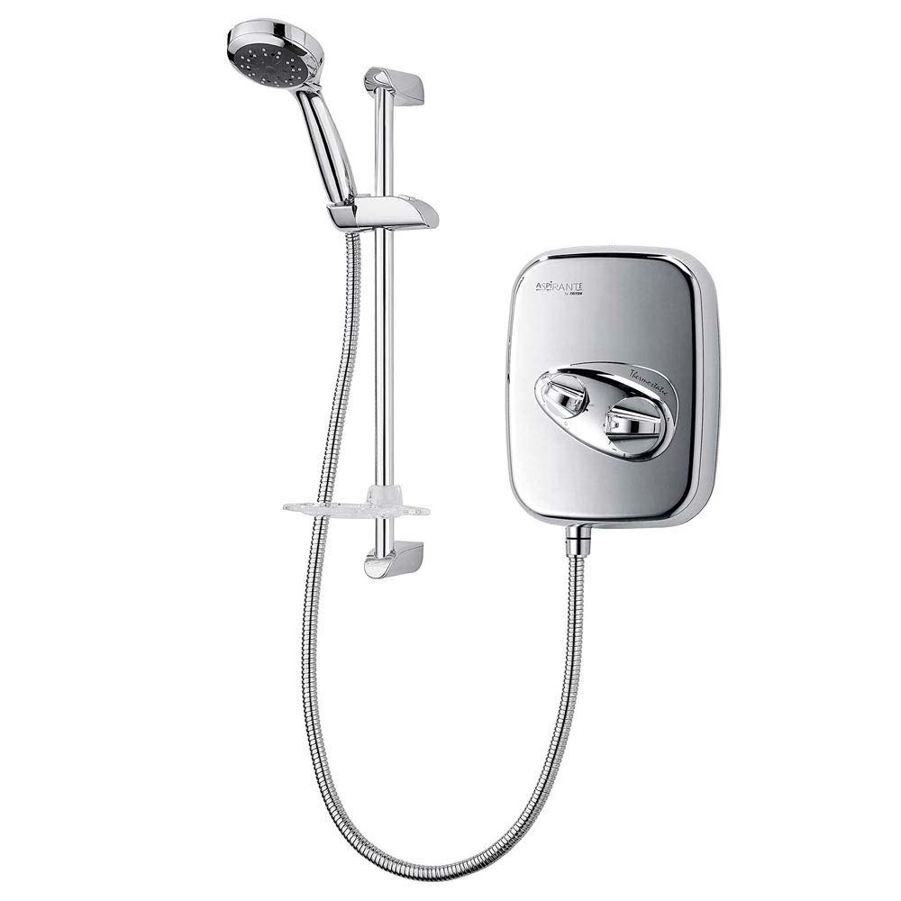 Triton Aspirante Power Shower - Chrome - ASP2000THM Large Image