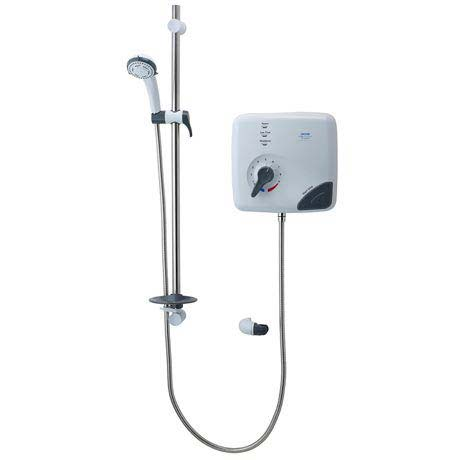 Triton Safeguard Pumped Care Shower 8.5 kw Electric Shower - CSGPE08WC