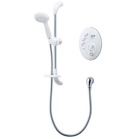 Triton T300si 8.5kw Remote Electric Shower - White/Chrome