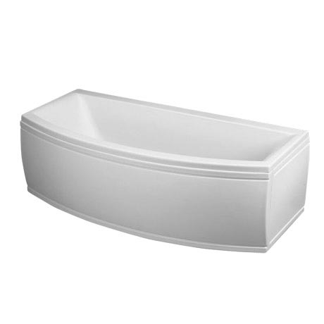 Trojan Arc Bow Front 1700 Double Ended Bath with Front & End Panels